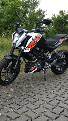Fahrschule Iser in Braunschweig KTM Duke 125
