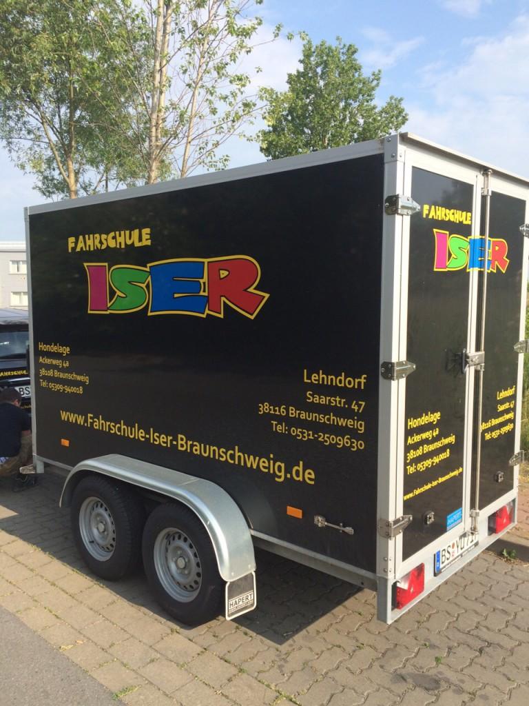 Anhängerführerschein bei Fahrschule Iser in Braunschweig